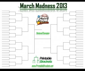 March Madness 2013 bracket