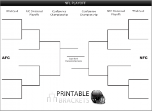 printable super bowl bracket