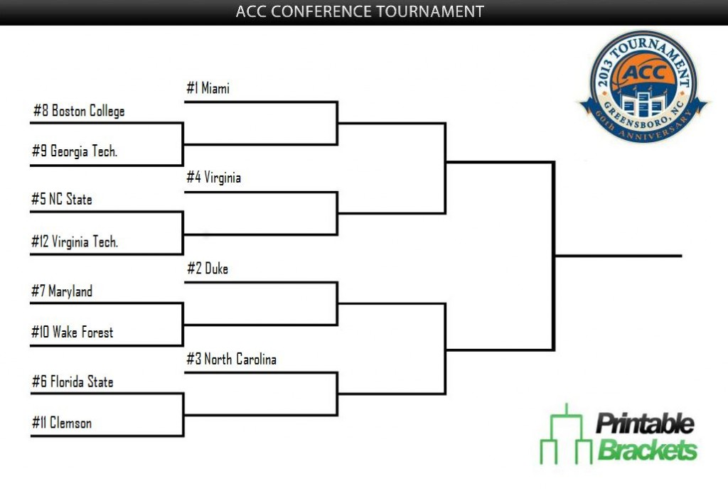 Terrible image inside printable acc men's basketball schedule