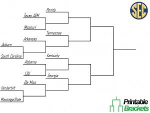SEC Basketball Tournament Screenshot