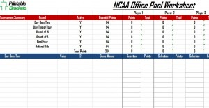 ncaa office pool
