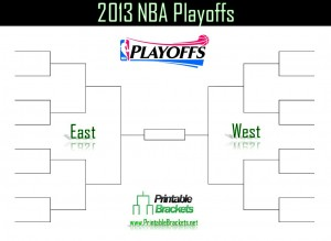 screenshot of the 2013 NBA Playoffs bracket
