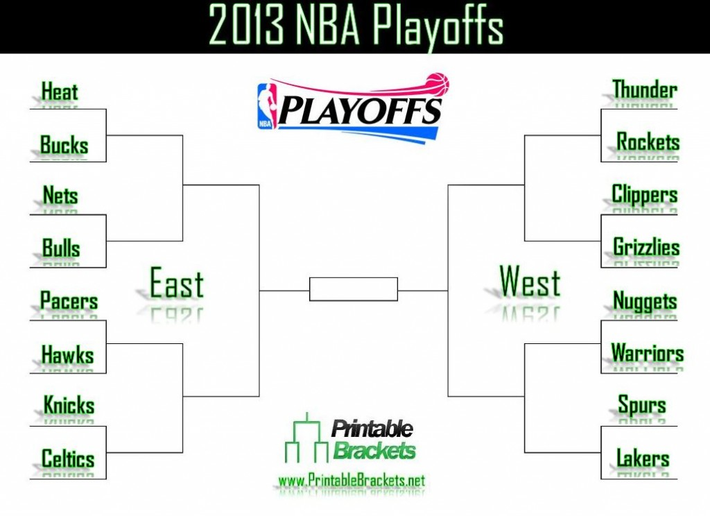 2013 NBA Playoffs screenshot