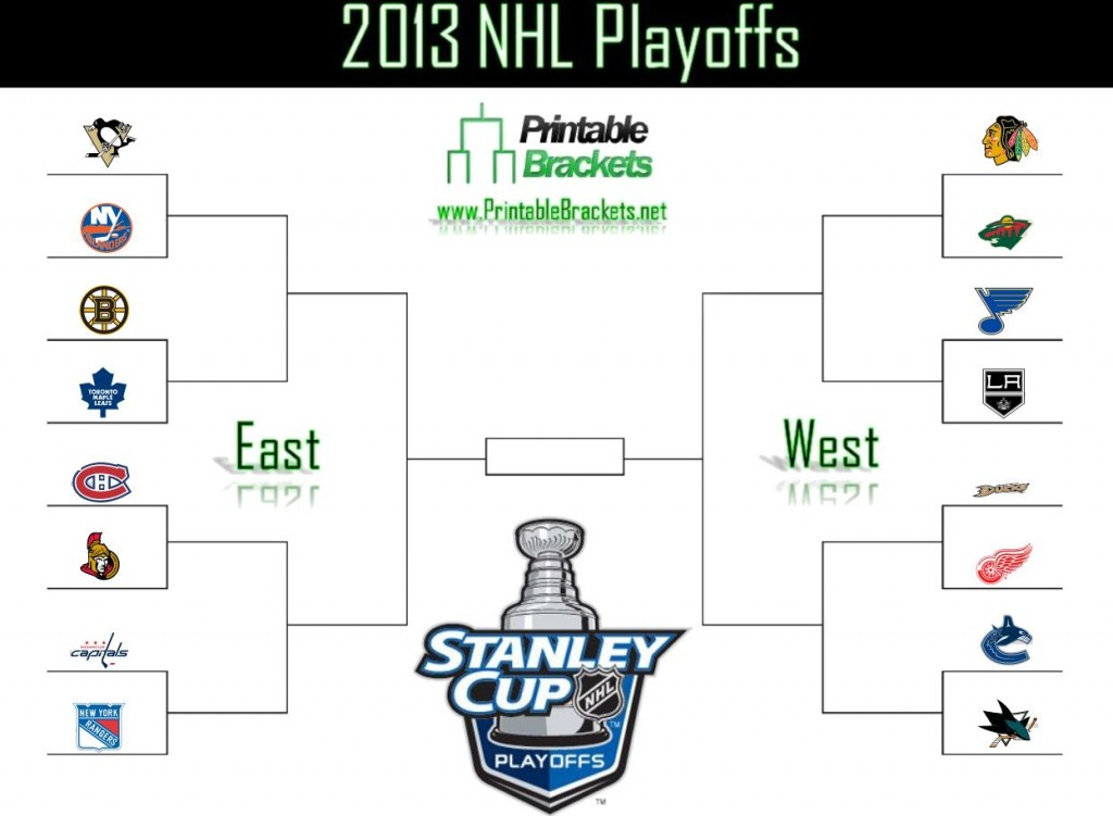 2013 NHL Playoffs screenshot