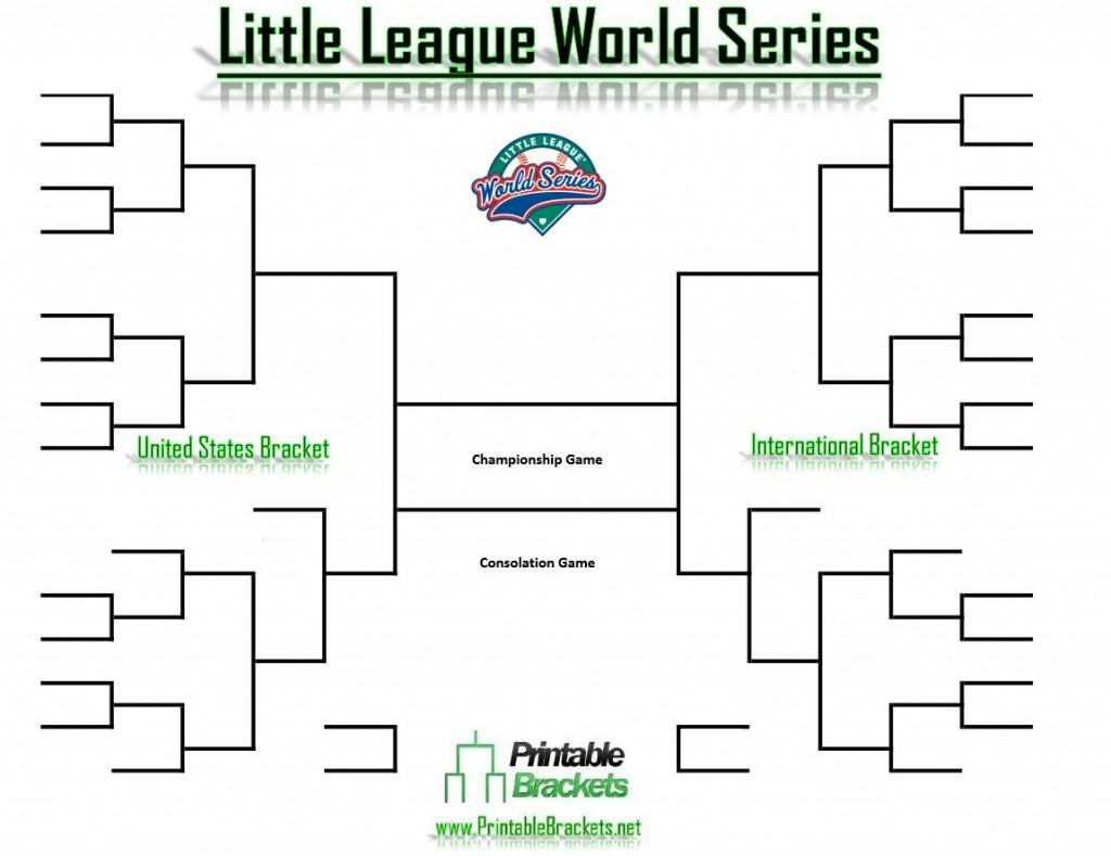 screenshot of the little league world series bracket