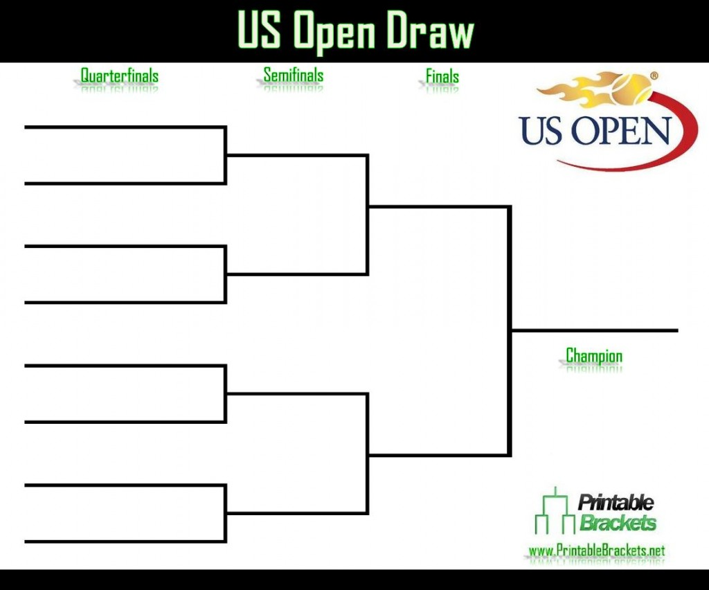 US Open Draw | US Open Tennis | US Open » Printable Brackets