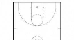 Basketball Court Template Screenshot