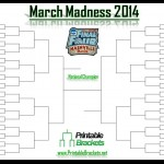 NCAA Womens Basketball Bracket Sheet