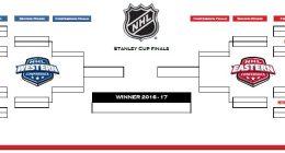 NHL 2016-17 Playoffs Template