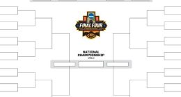Official March Madness Bracket Template