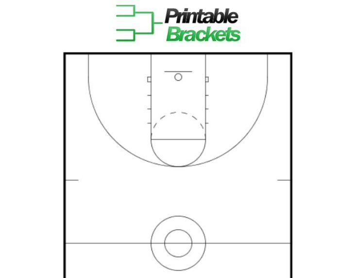 Basketball Court Template Screenshot